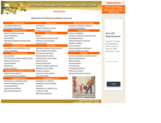 adoptionarticlesdirectory.com screenshot