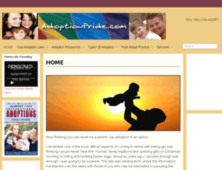 adoptionpride.com screenshot