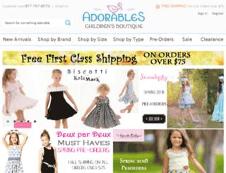 adorableschildren.com screenshot