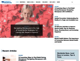 adoreself.com screenshot