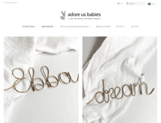 adoreusbabies.com screenshot