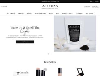 adorncosmetics.com.au screenshot