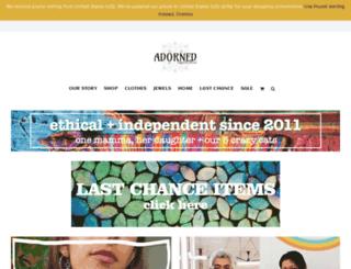 adorneduk.co.uk screenshot