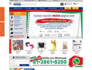 adosa.com.mx screenshot