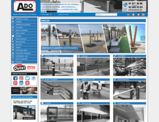 adosa.es screenshot