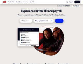 adp.com screenshot