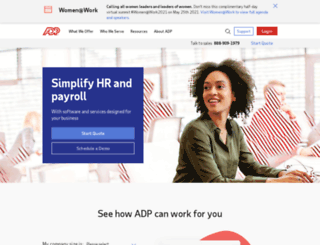 adp.postclickmarketing.com screenshot