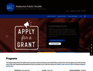 adph.org screenshot