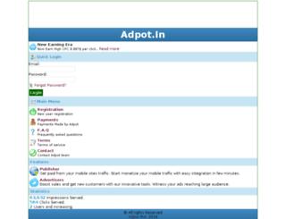 adpot.in screenshot