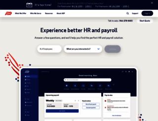 adppayroll.com screenshot