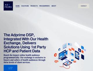 adprimemedia.com screenshot