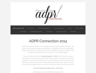 adprshareyourstory.wordpress.com screenshot