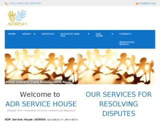 adr.abideinfotech.com screenshot