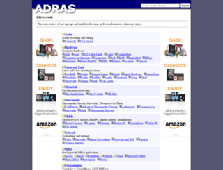 adras.com screenshot