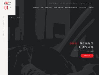 adreach.co.za screenshot