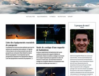 adrenaline-parachutisme.com screenshot