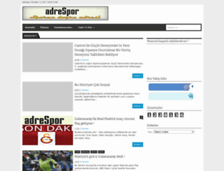 adrespor.blogspot.com screenshot