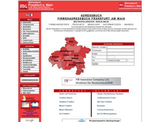 adressbuch-frankfurt.de screenshot