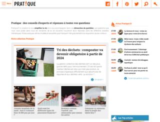 adresses.pratique.fr screenshot