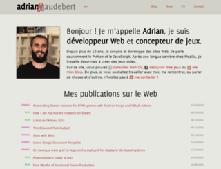 adrian.gaudebert.fr screenshot
