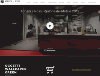 adrianierossi.com screenshot