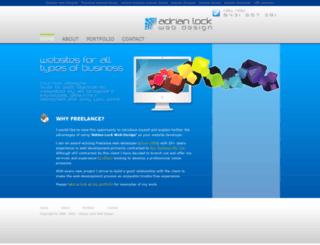 adrianlock.com screenshot