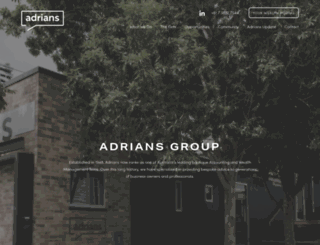 adriansca.com.au screenshot