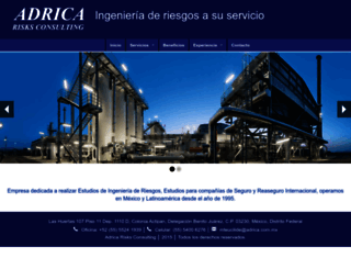 adrica.com.mx screenshot