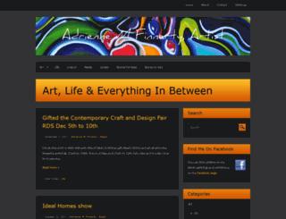 adriennemfinnerty.com screenshot