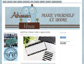 adrienneshouse.com screenshot