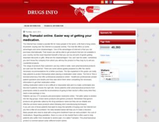 adrugsinfo.blogspot.in screenshot