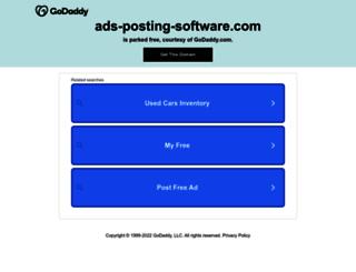 ads-posting-software.com screenshot