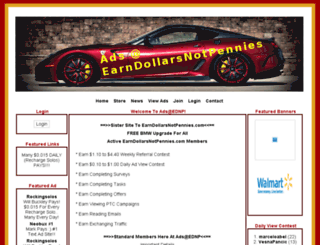 ads.earndollarsnotpennies.com screenshot