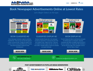 ads2publish.com screenshot