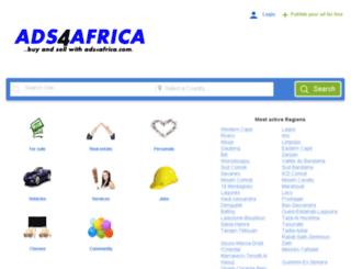 ads4africa.com screenshot