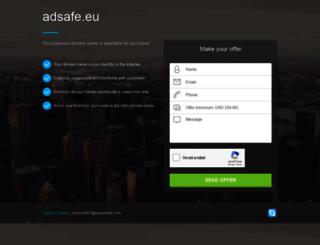 adsafe.eu screenshot