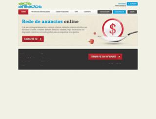 adsafiliados.com.br screenshot