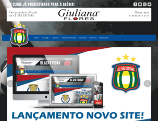 adsaocaetano.com.br screenshot
