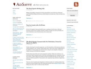adsavvy.org screenshot