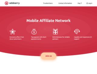 adsberry.ru screenshot