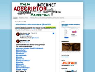 adscriptum.blogspot.fr screenshot