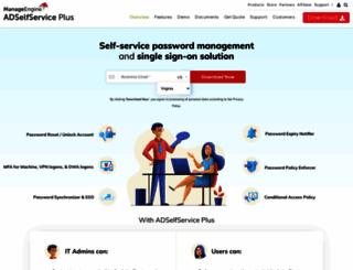 adselfserviceplus.com screenshot