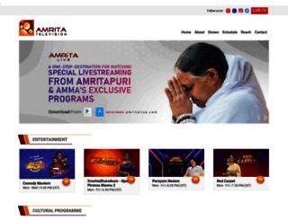 adserver.amritatv.com screenshot