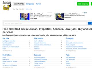 adshouse.co.uk screenshot
