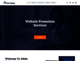 adsinmedia.com screenshot
