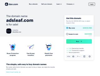 adsleaf.com screenshot