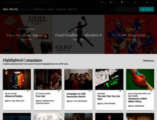 adsoftheworld.com screenshot
