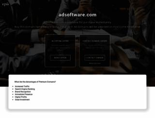 adsoftware.com screenshot