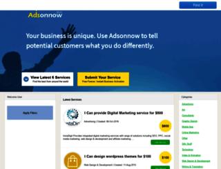 adsonnow.com screenshot