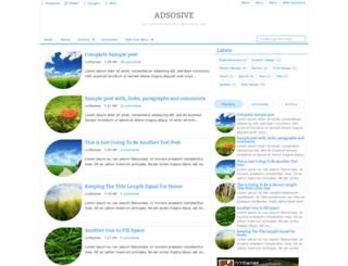 adsosive-ivy.blogspot.com screenshot